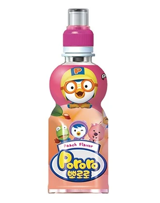 Korean Pororo (24 cans/box) /Starwberry Flavor Juice (235ml)/Bottle