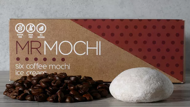 MR Mochi Ice Cream (Coffee Flavor ) 48pcs/6pack/box