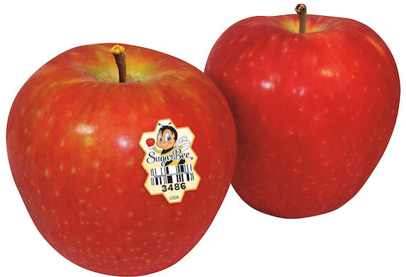 California Sugar Bee 3486 Apples  6pcs/pack