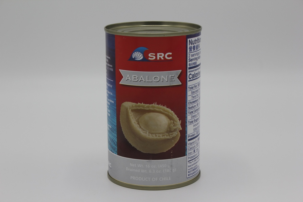 Abalone in Can (24 can/ box, 6 pcs / can)